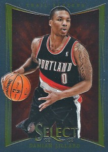 2012-13 Select Damian Lillard RC