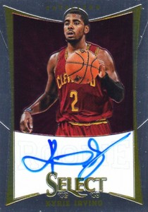 2012-13 Select Kyrie Irving Autograph RC