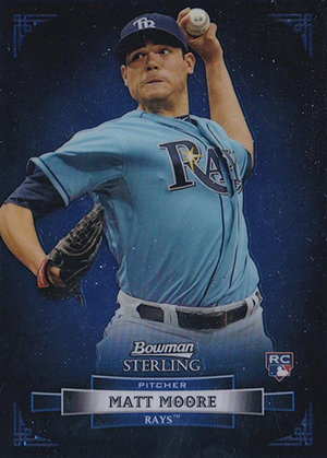 Matt Moore Cards and Memorabilia Guide 2