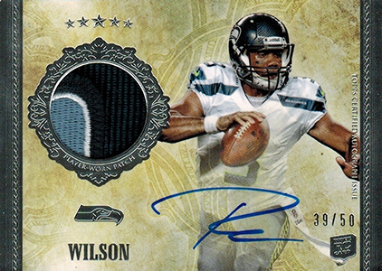 2012 Topps Five Star Russell Wilson RC