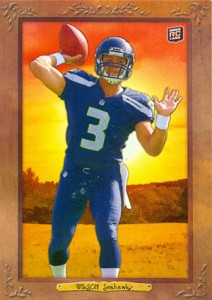2012 Topps Turkey Red Russell Wilson RC