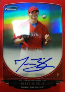 2013 Bowman Baseball Hot List 60