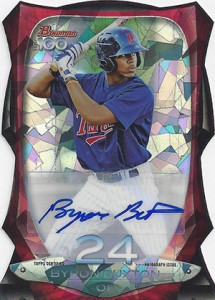 2013 Bowman Baseball Hot List 55