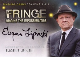 2013 Cryptozoic Fringe Seasons 3 and 4 Autographs Guide 11
