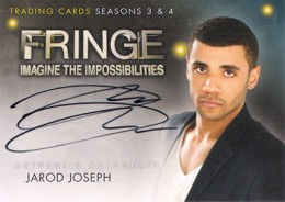 2013 Cryptozoic Fringe Seasons 3 and 4 Autographs Guide 12
