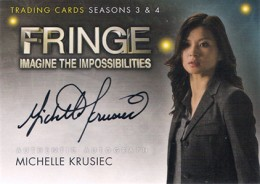 2013 Cryptozoic Fringe Seasons 3 and 4 Autographs Guide 13