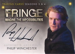 2013 Cryptozoic Fringe Seasons 3 and 4 Autographs Guide 14