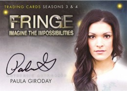 2013 Cryptozoic Fringe Seasons 3 and 4 Autographs Guide 15