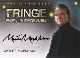 2013 Cryptozoic Fringe Seasons 3 and 4 Autographs Guide 17