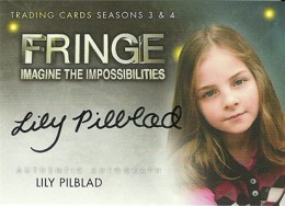 2013 Cryptozoic Fringe Seasons 3 and 4 Autographs Guide 18