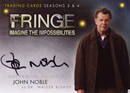2013 Cryptozoic Fringe Seasons 3 and 4 Autographs Guide 2