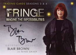 2013 Cryptozoic Fringe Seasons 3 and 4 Autographs Guide 4