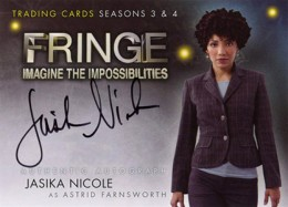 2013 Cryptozoic Fringe Seasons 3 and 4 Autographs Guide 5