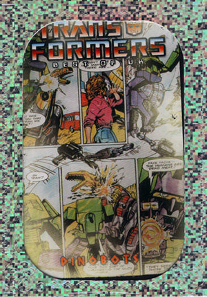 2013 Breygent Transformers Optimum Collection Trading Cards 26