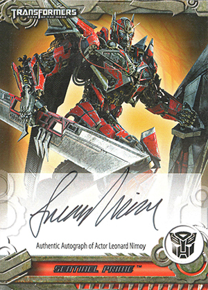 2013 Breygent Transformers Optimum Collection Trading Cards 25