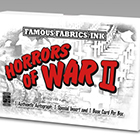 2013 Famous Fabrics Ink Horrors of War II Trading Cards