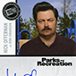 A Message from Ron Swanson: Inscription Autographs in Parks and Recreation Trading Cards - UPDATE