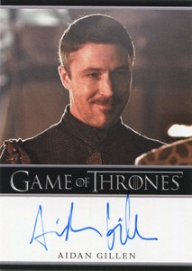 2013 Rittenhouse Game of Thrones Season 2 Autographs Guide 35