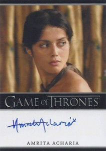 2013 Rittenhouse Game of Thrones Season 2 Autographs Guide 1