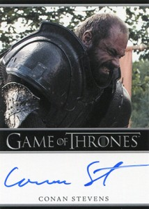 2013 Rittenhouse Game of Thrones Season 2 Autographs Guide 45