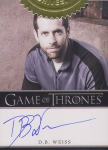 2013 Rittenhouse Game of Thrones Season 2 Autographs Guide 47