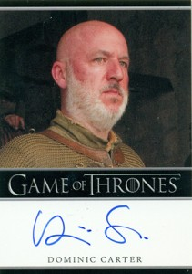 2013 Rittenhouse Game of Thrones Season 2 Autographs Guide 6
