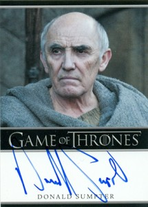 2013 Rittenhouse Game of Thrones Season 2 Autographs Guide 22