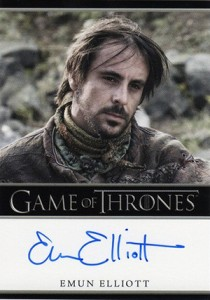 2013 Rittenhouse Game of Thrones Season 2 Autographs Guide 34