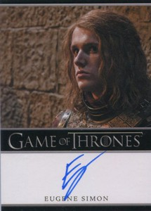 2013 Rittenhouse Game of Thrones Season 2 Autographs Guide 21