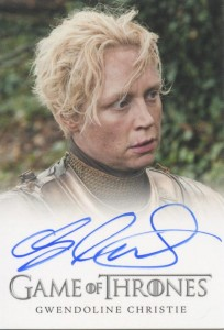 2013 Rittenhouse Game of Thrones Season 2 Autographs Guide 30