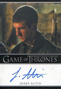 2013 Rittenhouse Game of Thrones Season 2 Autographs Guide 2