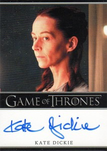 2013 Rittenhouse Game of Thrones Season 2 Autographs Guide 32
