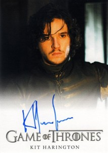 2013 Rittenhouse Game of Thrones Season 2 Autographs Guide 37