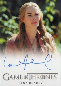 2013 Rittenhouse Game of Thrones Season 2 Autographs Guide 14