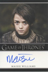 2013 Rittenhouse Game of Thrones Season 2 Autographs Guide 48