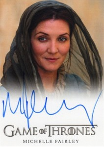 2013 Rittenhouse Game of Thrones Season 2 Autographs Guide 11