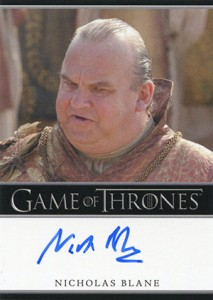 2013 Rittenhouse Game of Thrones Season 2 Autographs Guide 28