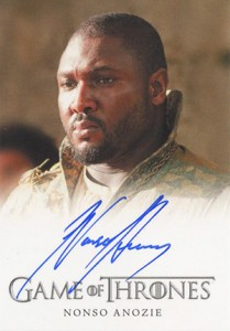 2013 Rittenhouse Game of Thrones Season 2 Autographs Guide 26