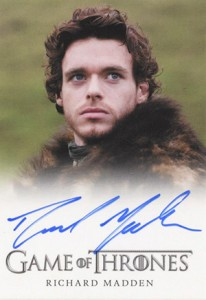 2013 Rittenhouse Game of Thrones Season 2 Autographs Richard Madden