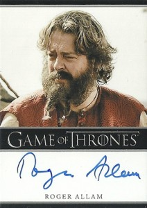 2013 Rittenhouse Game of Thrones Season 2 Autographs Guide 25