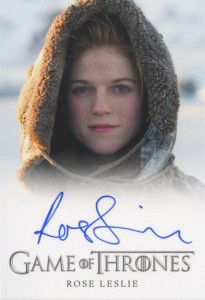 2013 Rittenhouse Game of Thrones Season 2 Autographs Guide 40