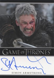 2013 Rittenhouse Game of Thrones Season 2 Autographs Guide 27
