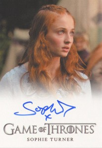 2013 Rittenhouse Game of Thrones Season 2 Autographs Guide 23