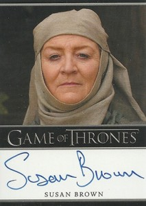 2013 Rittenhouse Game of Thrones Season 2 Autographs Guide 29