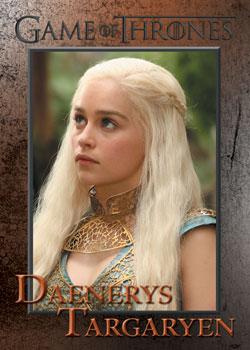 2013 Rittenhouse Game of Thrones Season 2 Base Card
