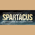 2013 Rittenhouse Spartacus Expansion Trading Card Set