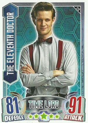 2013 Topps Doctor Who Alien Attax Trading Card Game 26
