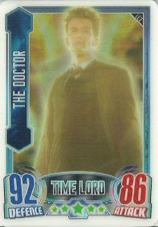 2013 Topps Doctor Who Alien Attax Trading Card Game 24