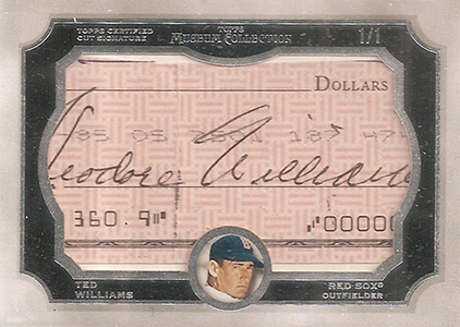 What's Hot in 2013 Topps Museum Collection Baseball 27