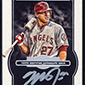 Mike Trout Signs Exclusive Autograph Deal with Topps